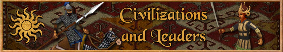 Header 3. Civilizations and Leaders