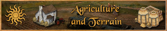 Header 4. Agriculture and Terrain