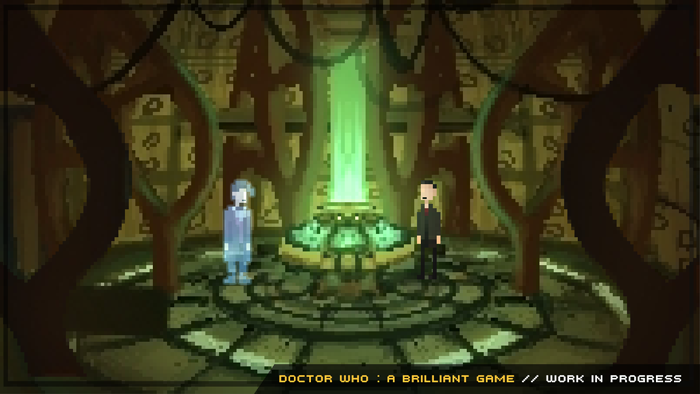 Doctor Who : A Brilliant Game : Early concept Scene of Nine & Eleven