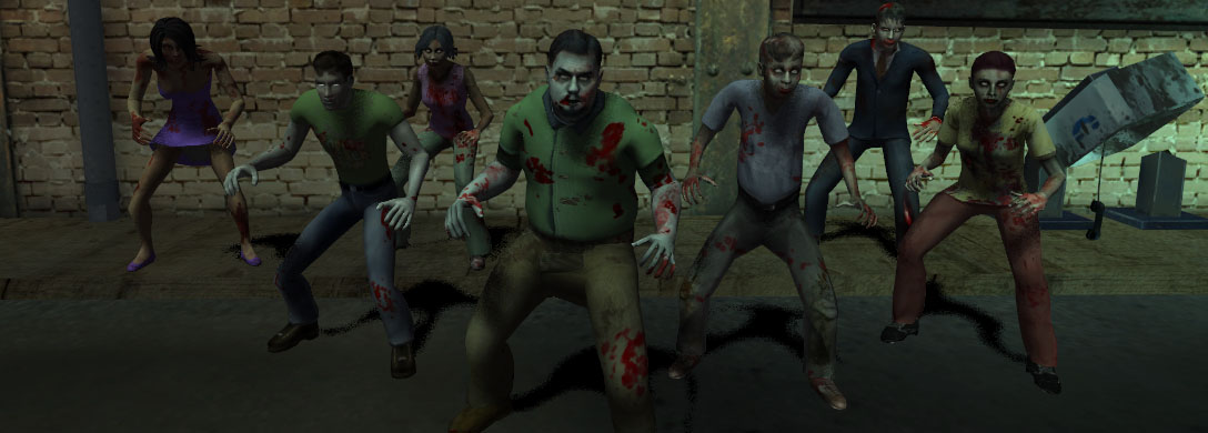 new zombie skins line up