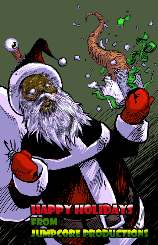 holiday zombie