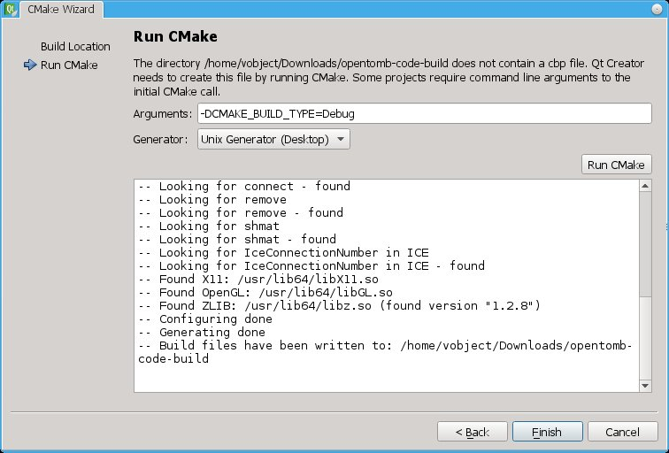 Configuring CMake