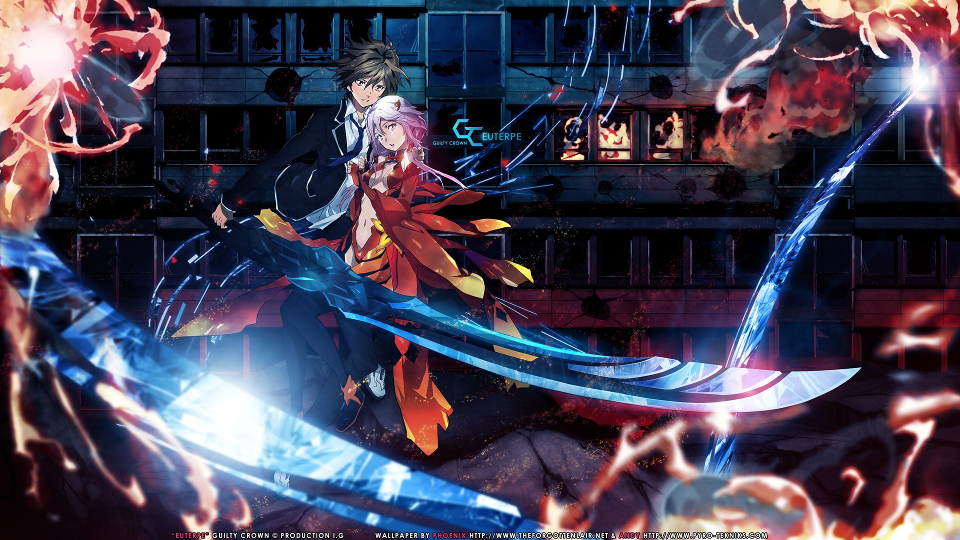 Guilty Crown Wallpaper Inori: Guilty Crown News