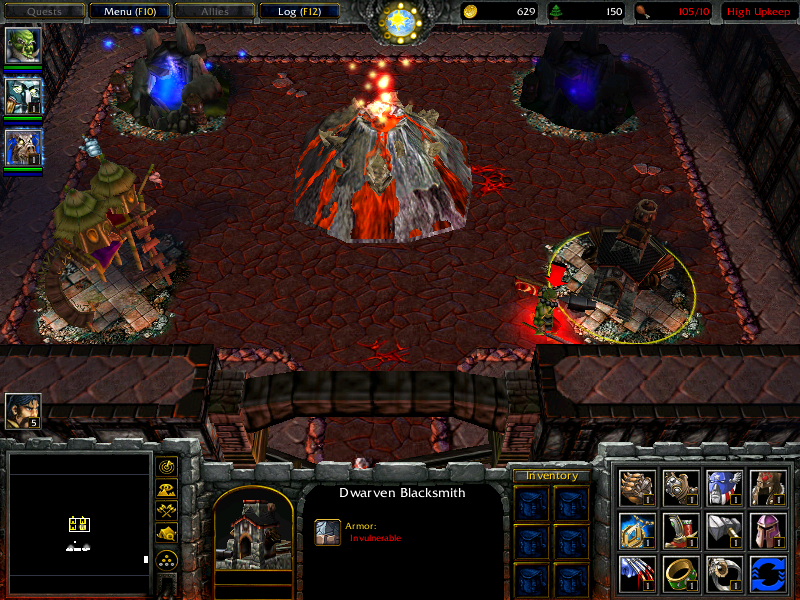 Warcraft iii: the frozen throne footmen frenzy river crossing map - free download and software reviews