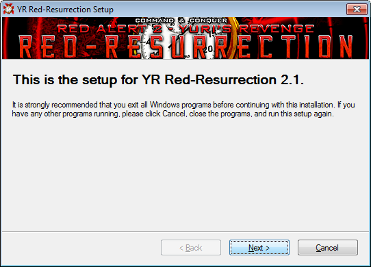 A preview of the new Red-Res installer!