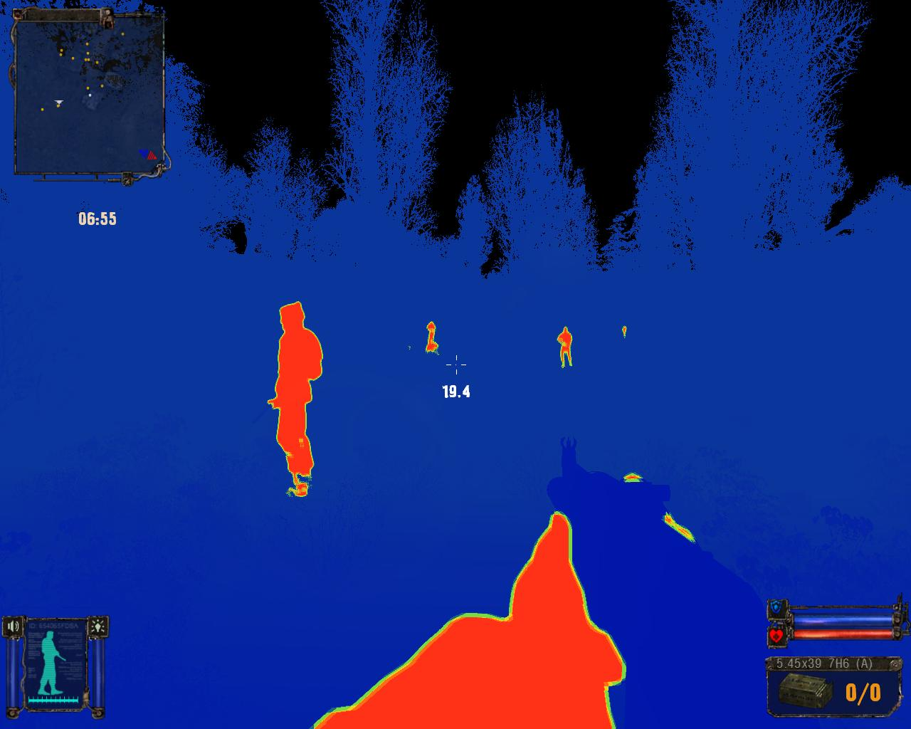 Thermal Imaging device (alpha stage screenshot)