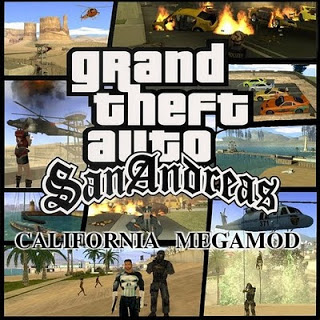California Megamod 3.3 for GTA San Andreas