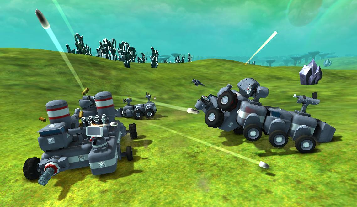 TerraTech vehicles