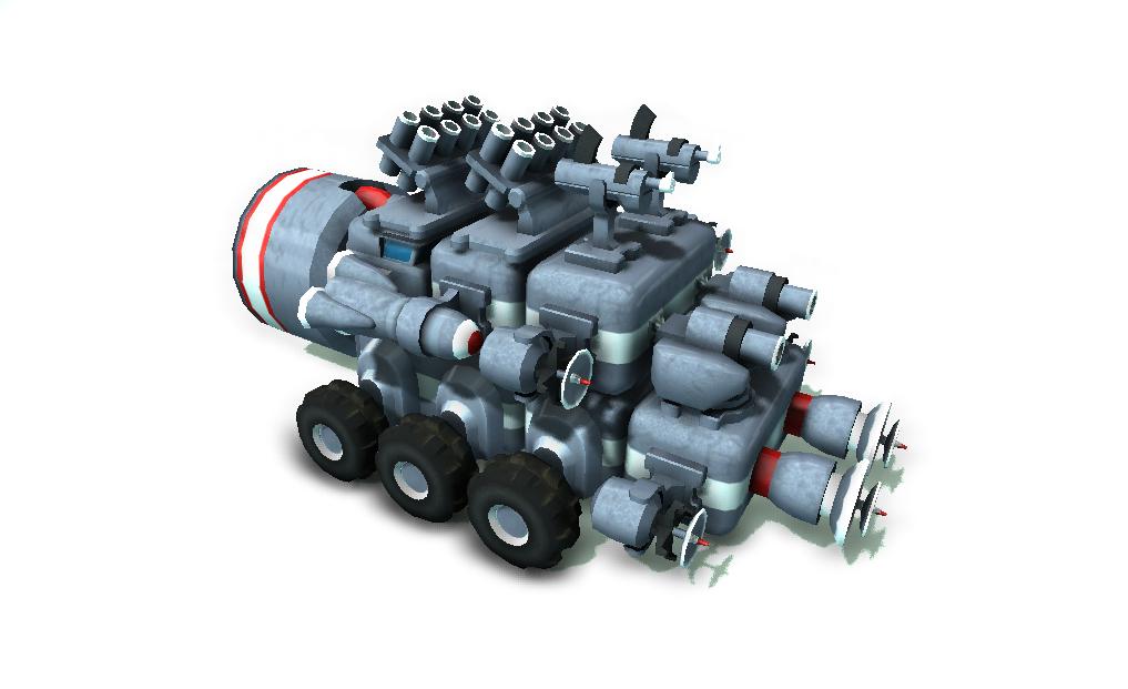 TerraTech Escort vehicle
