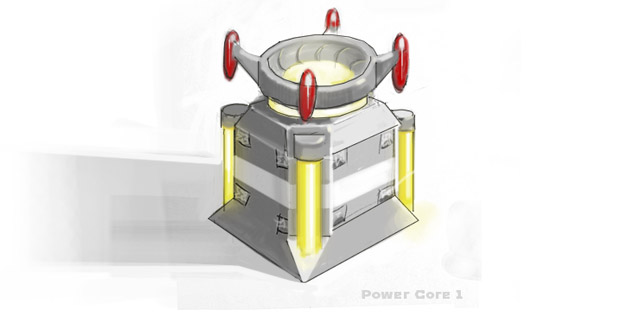 TerraTech Power Core concept art
