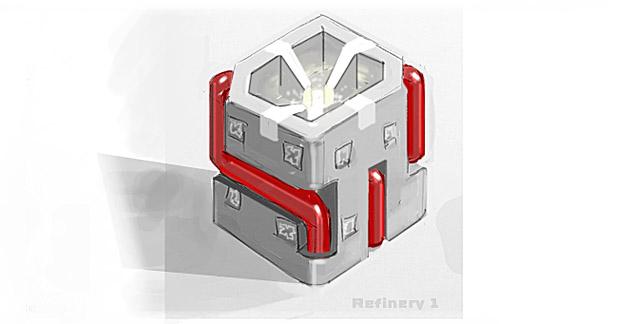 TerraTech Refinery concept art