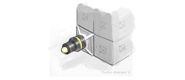TerraTech Turbo Charger concept art