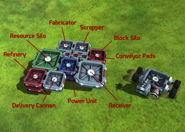TerraTech Base overview