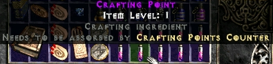 Crafting Point