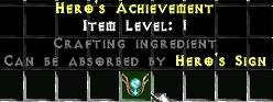 Hero's Achievment