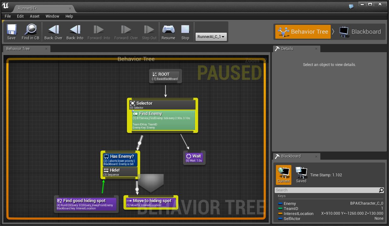 Blackboard TreeMode