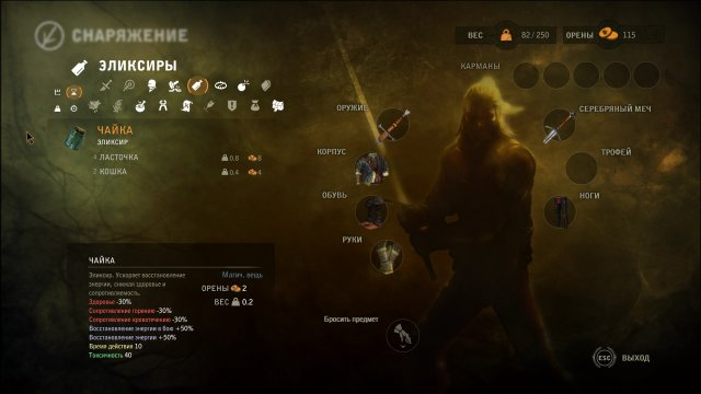 Witcher  No Item Crafting