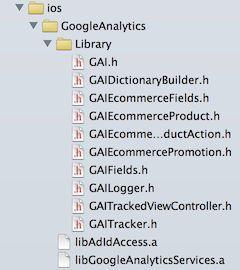 Google analytics SDK for XCode