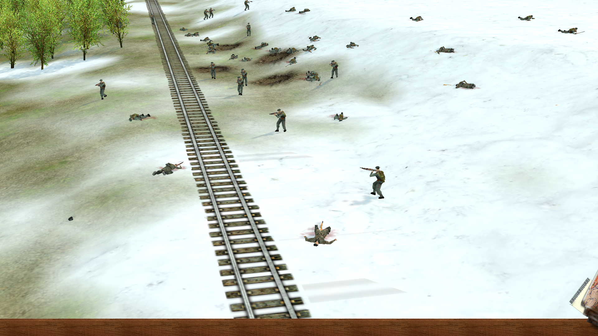 Screenshot taken during Arctic Warfare mission