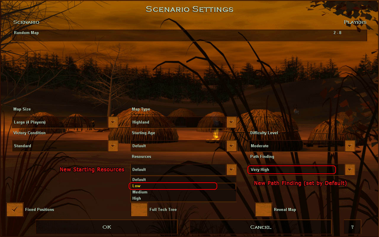 New settings in Beta2