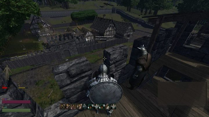 A screenshot sent into the Life is Feudal Facebook Page