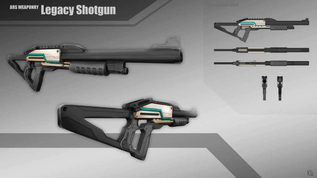 ARS-Weapons-Shotgun-model-sheet
