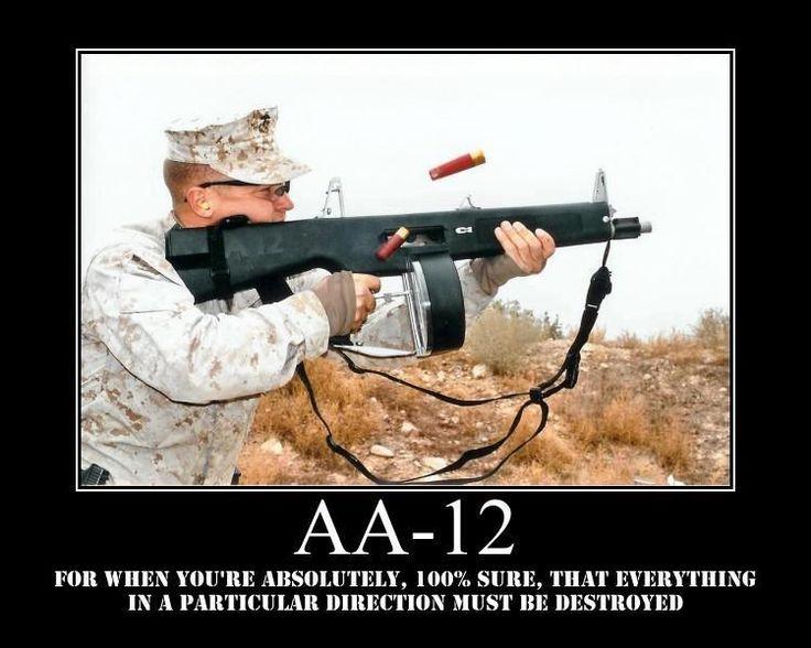 AA 12 Combat Shotgun - news article - Mod DB
