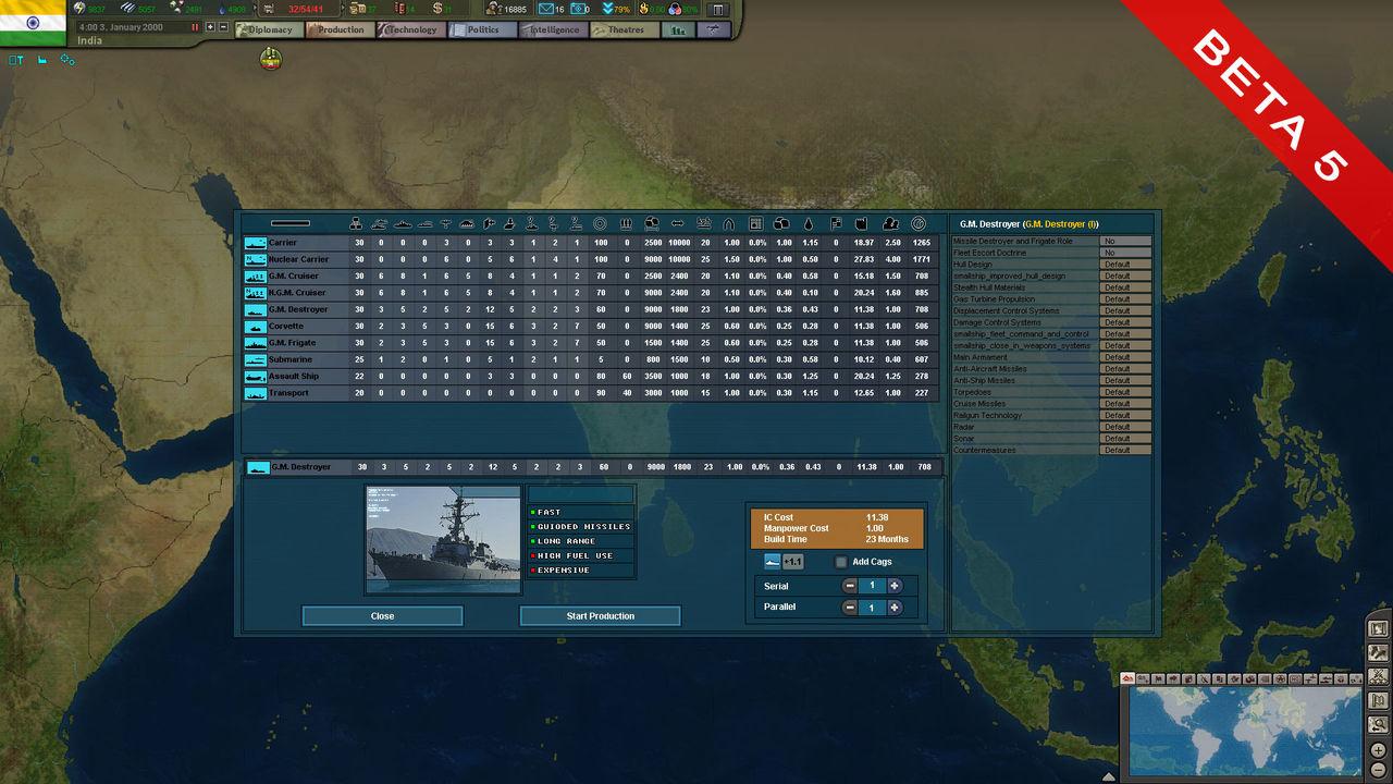 Beta 5 Naval Builder