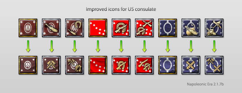 New US consulate icons