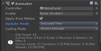 Unity Animator Component