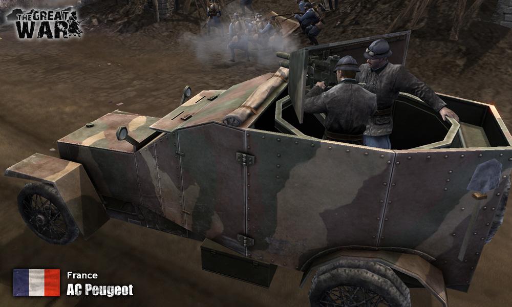 Autocannon Peugeot