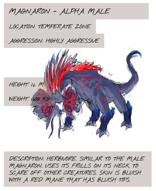 One of the Entries in the Bestiary