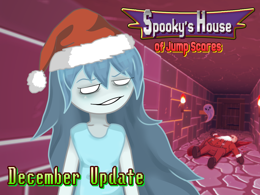 Spooky December Update News Spooky S Jump Scare Mansion