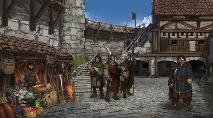 Progress Update: Village Screen and Mercenary Contracts ...  Progress Update...