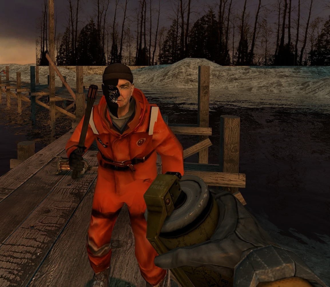 Terminator Odell on the docks