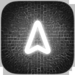 icon_night_arrow_border_background