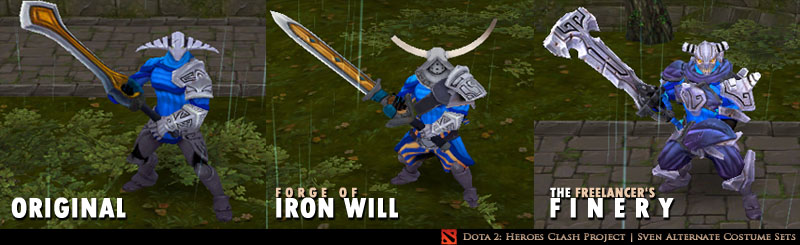 Dota 2: Heroes Clash mod for Warcraft III: Frozen Throne