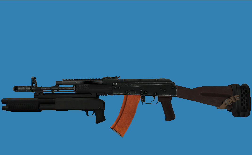 Same AK with recoil dampener