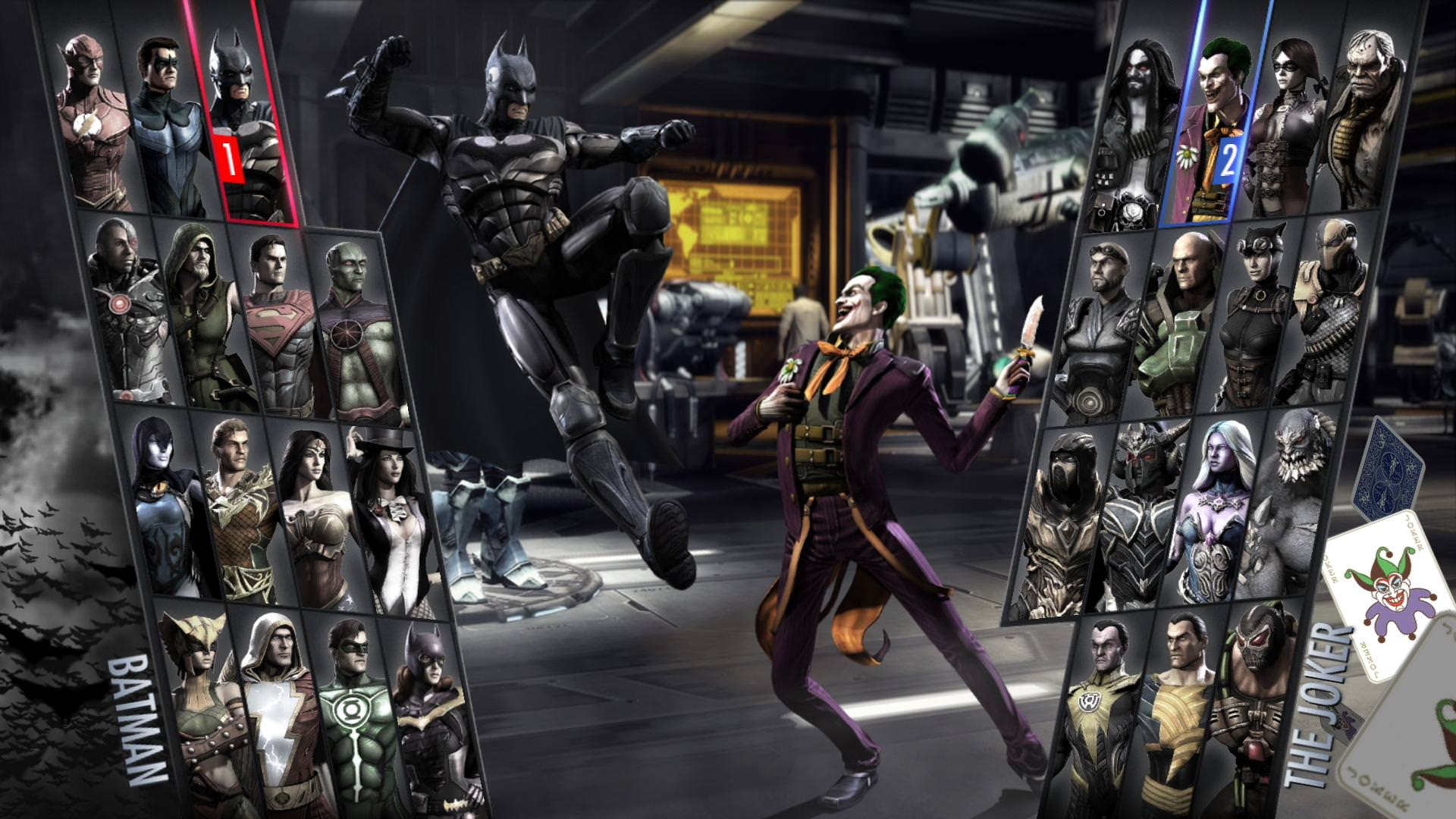 Injustice ultimate edition characters