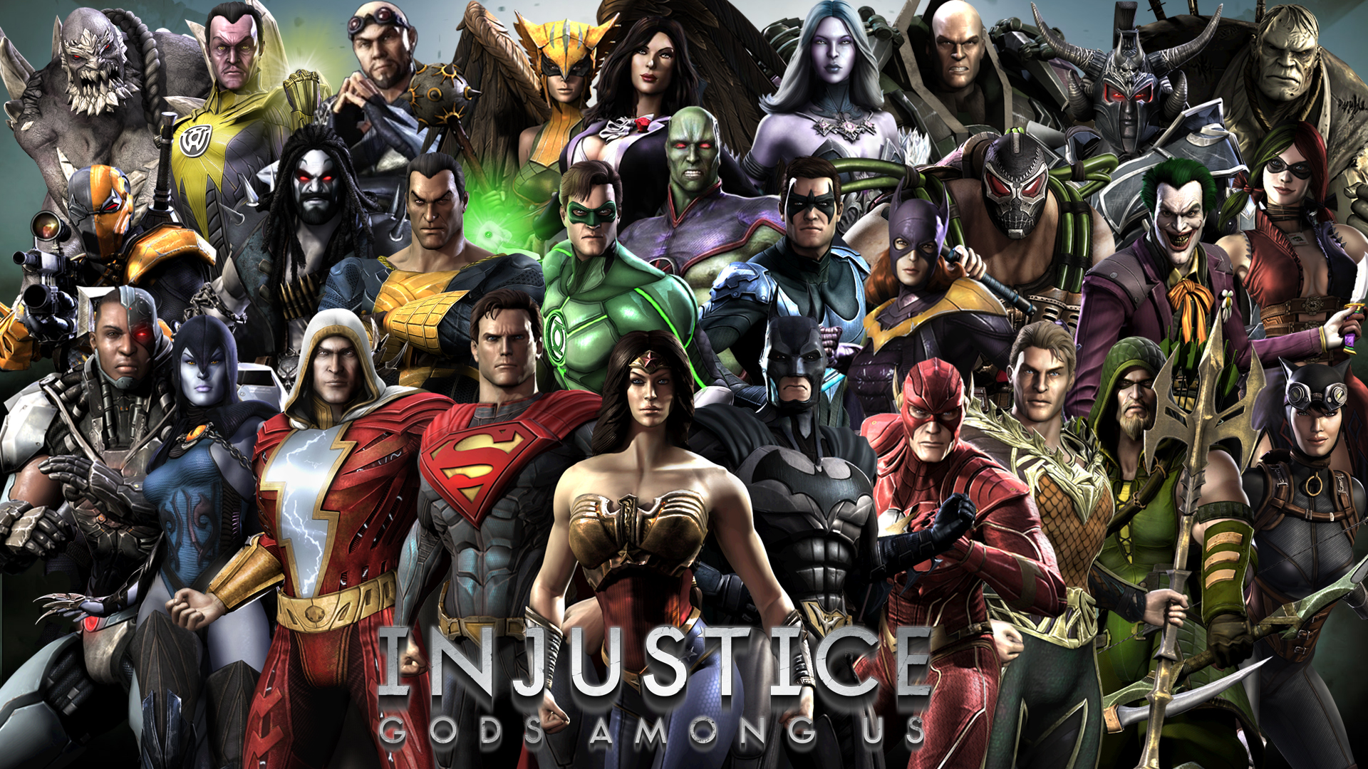 injustice ultimate edition ps3 characters