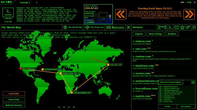 computer hacking games online