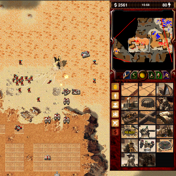 Dune 2000 sidebar