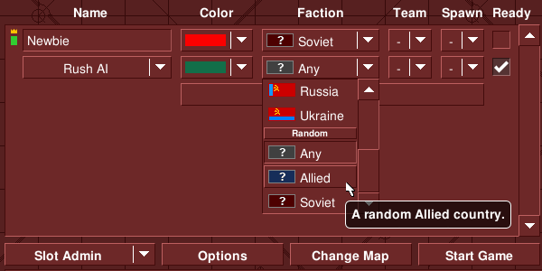 Random Countries