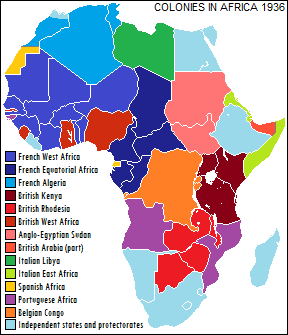 african colonialism is a problem to The forcible integration of africa into globalization through slavery and colonialism has led to the problem of colonialism and neocolonialism in africa.