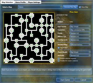 Devlog: Procedural Map Generation news - Unending Galaxy - Mod DB