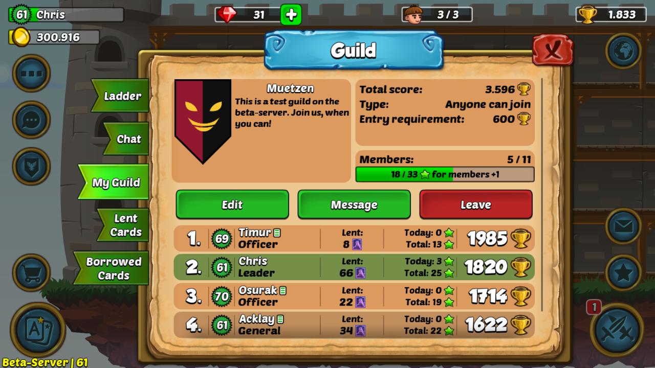 Arcanox Guilds