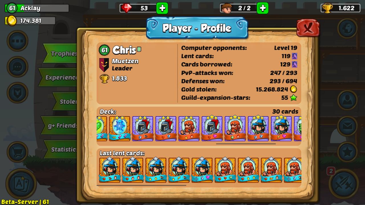 Public Player Profile