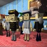 Blocky Character Models on Karaski