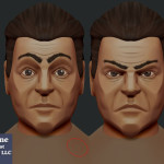 Indie Game Character Model Expressions