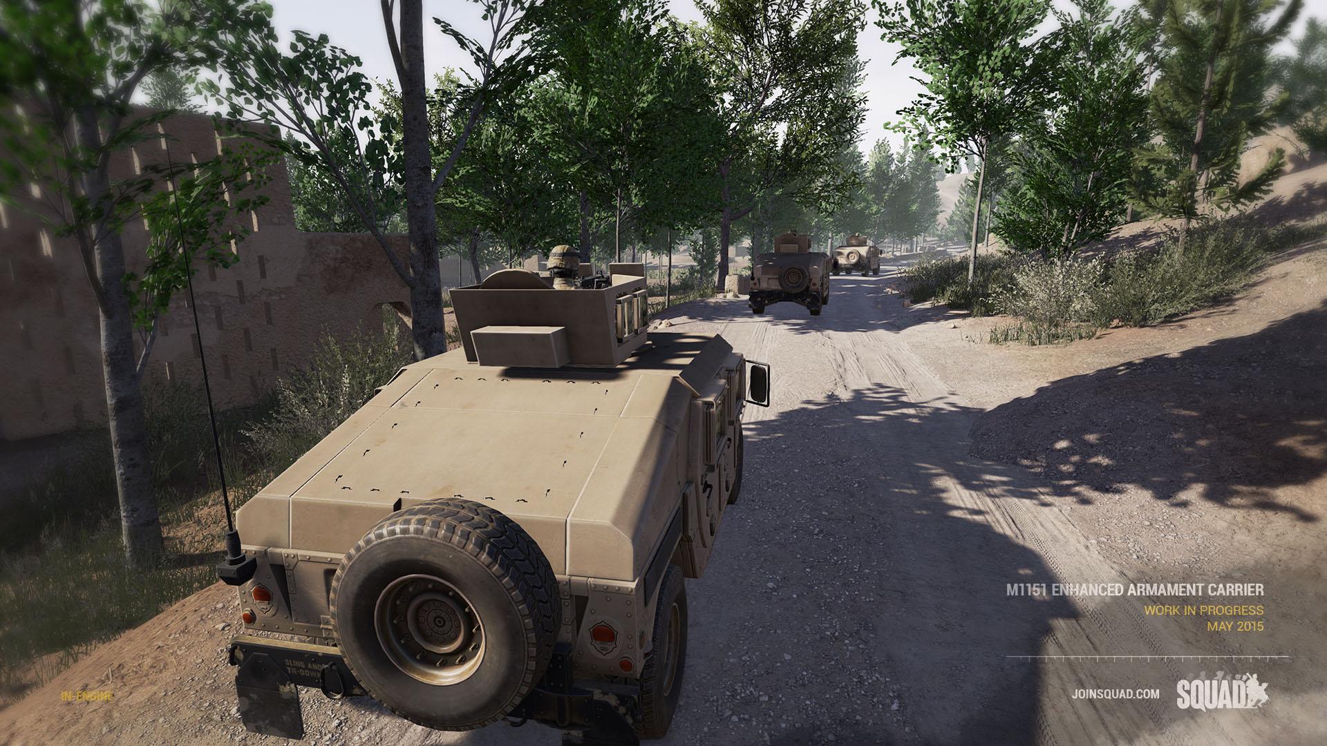 Squad Humvee Reveal June 2015 WIP